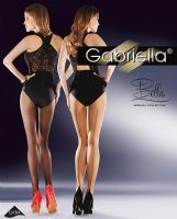 Gabriella Bella Retro Style Seamed Tights